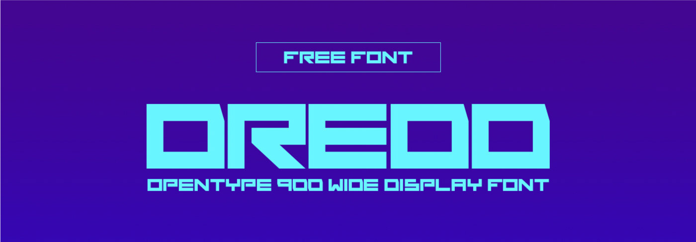 DREDD Free Font - decorative-display