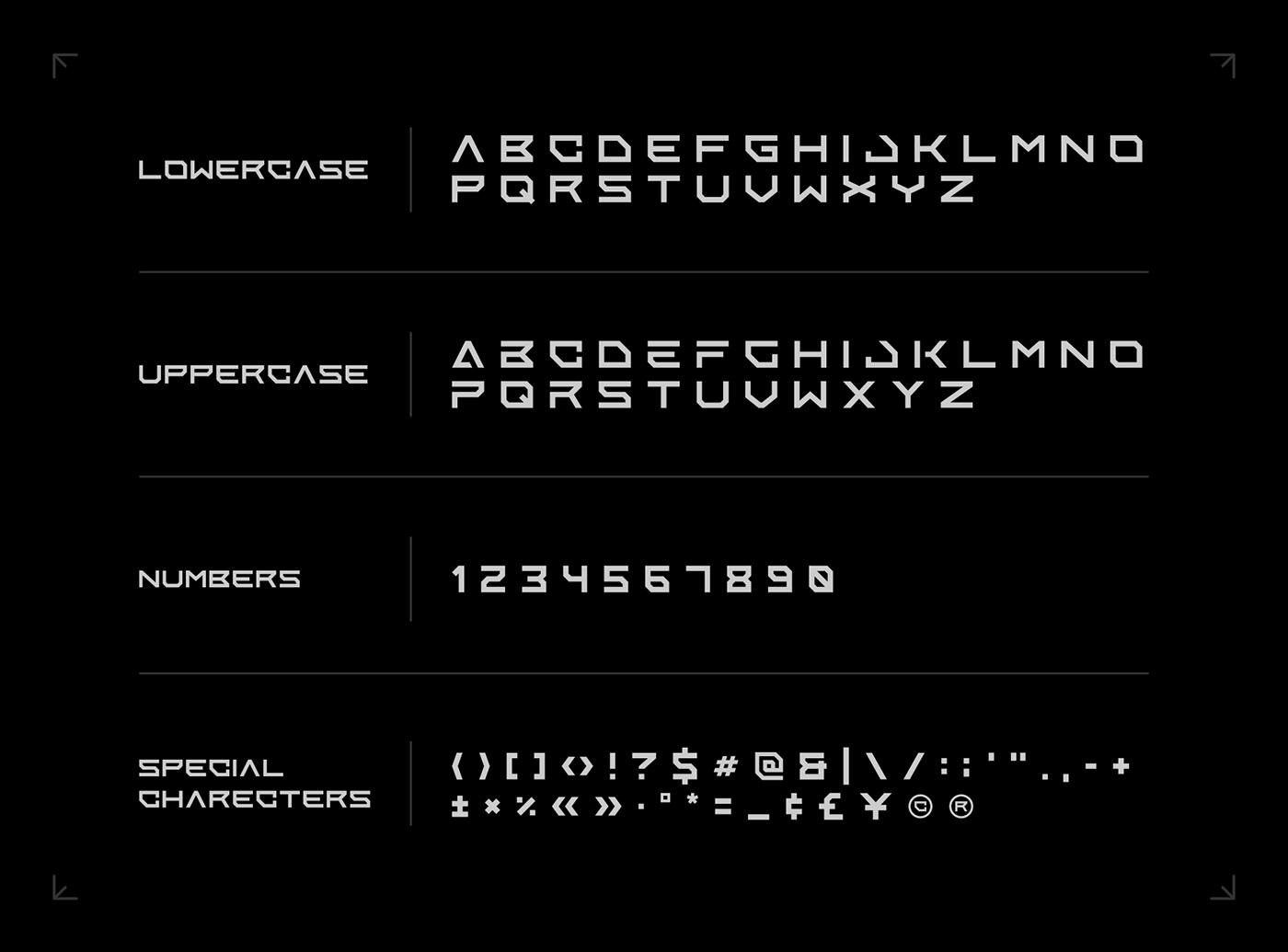 Enixe Free Font - sans-serif