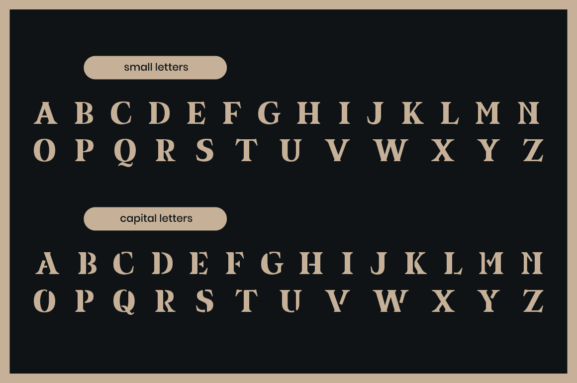 Equil Free Font - serif
