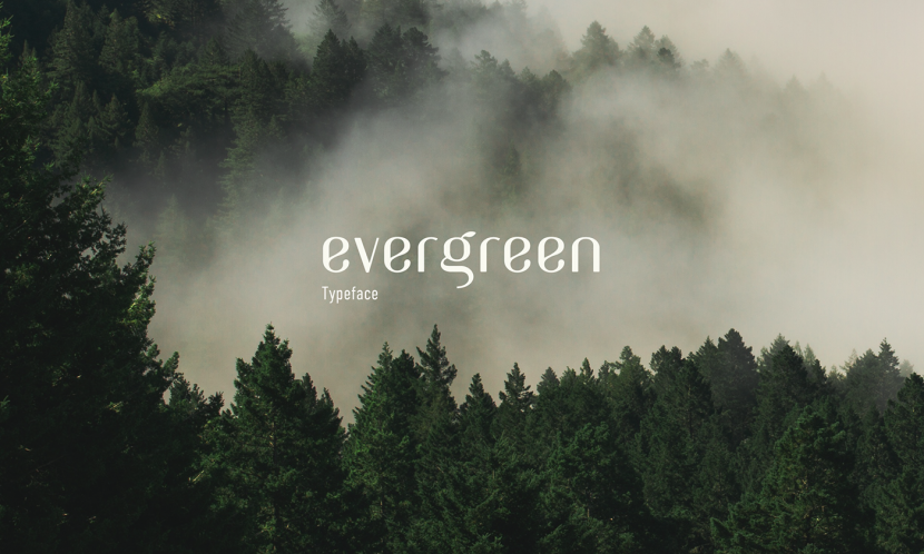 Evergreen Free Typeface