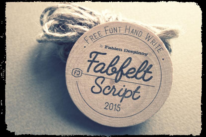 Fabfelt Free font -
