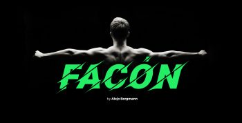 Facón Free Font - decorative