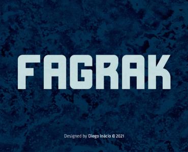 FAGRAK Free Font - sans-serif