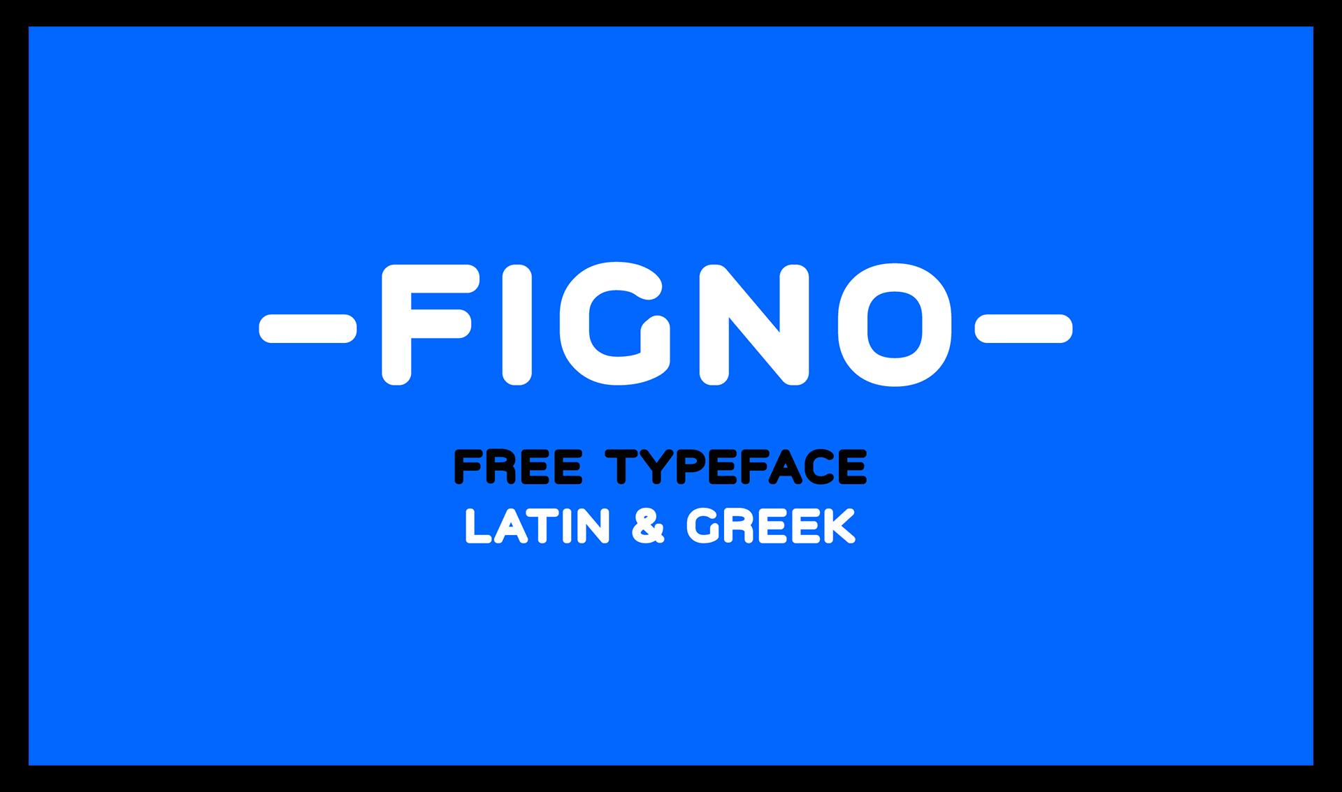 Figno Free Font - sans-serif