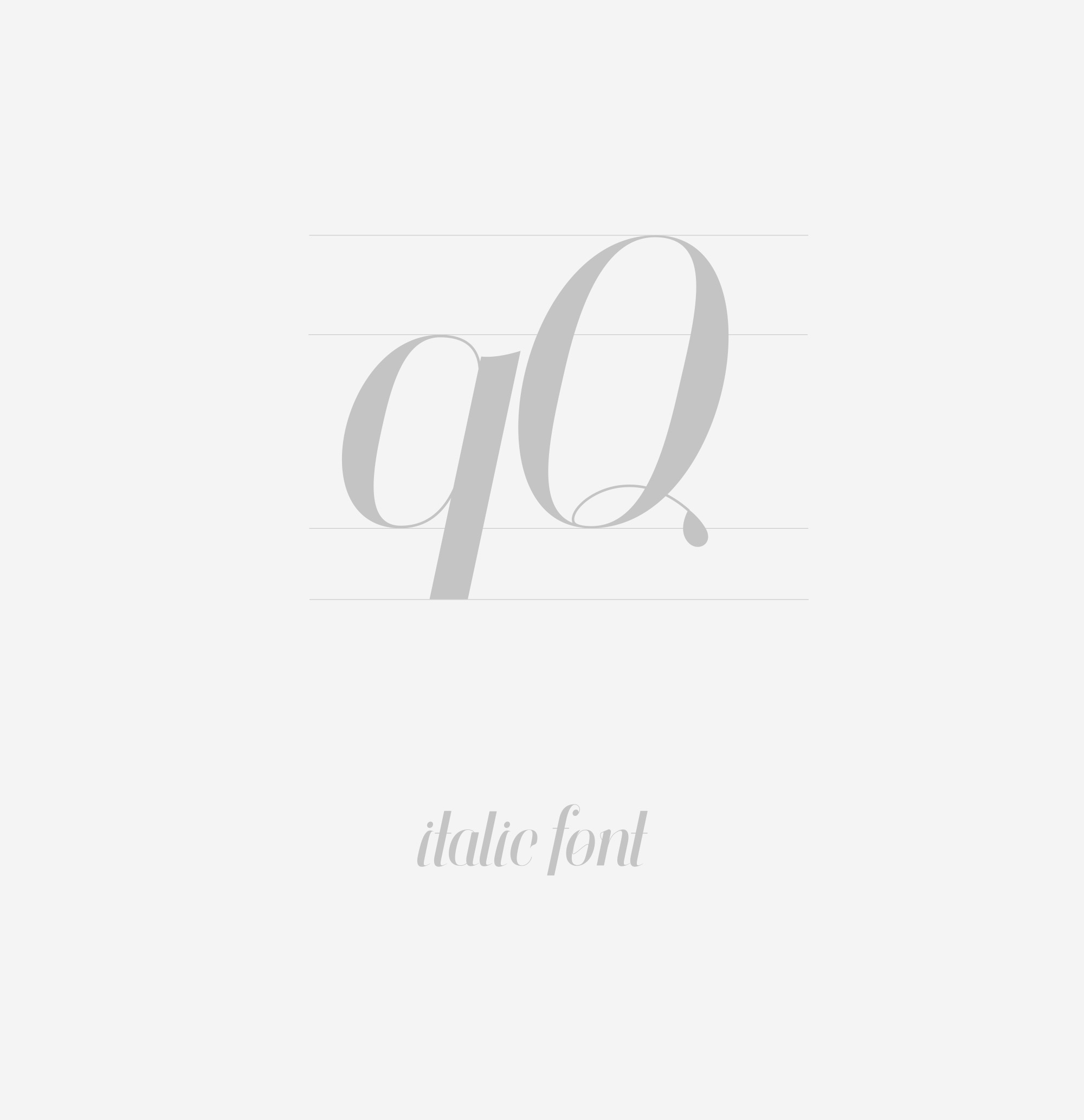 Finches Free Font - serif