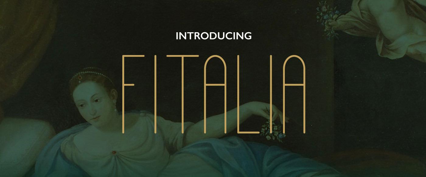 FITALIA Free Font - sans-serif