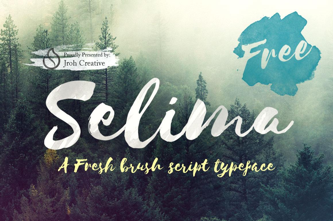 Selima Free Font