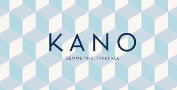 Kano Free Typeface