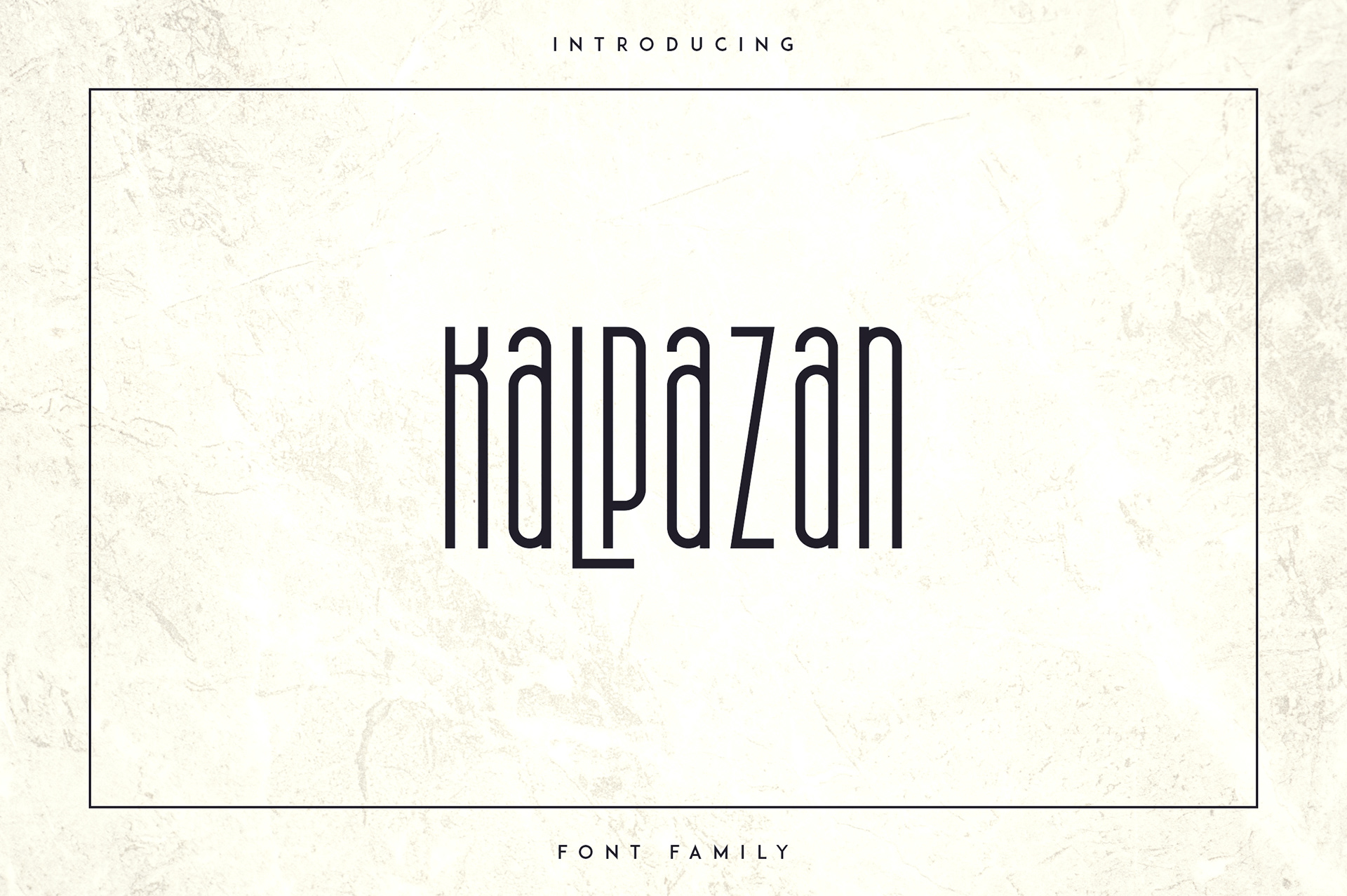 Kalpazan Free Font - decorative-display
