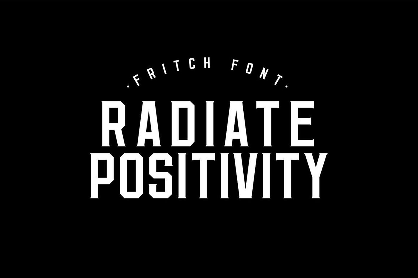 Fritch Free Font - decorative-display