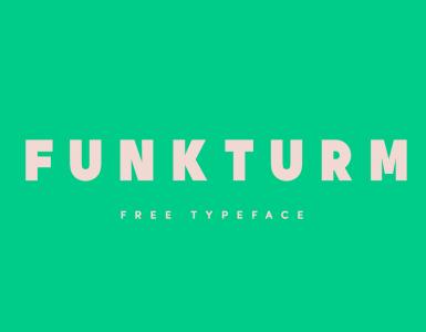 Funkturm Free Font - sans-serif
