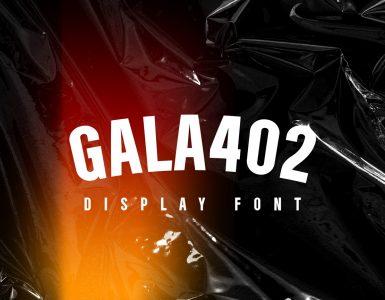 Gala402 Free Font - sans-serif