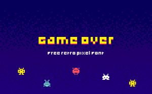 Game Over free font -