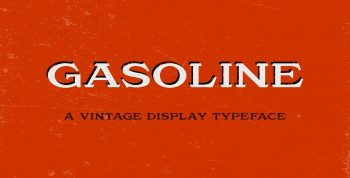 Gasoline Free Font - serif