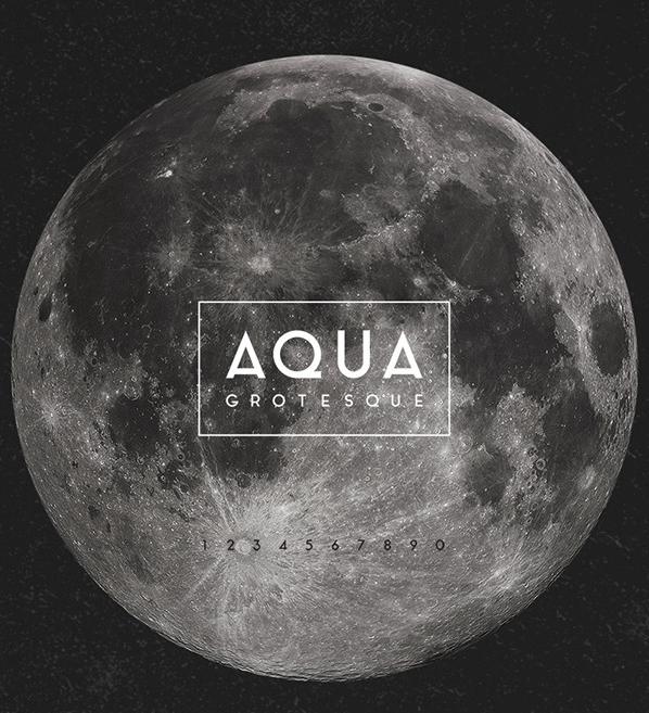 Aqua Grotesque free font