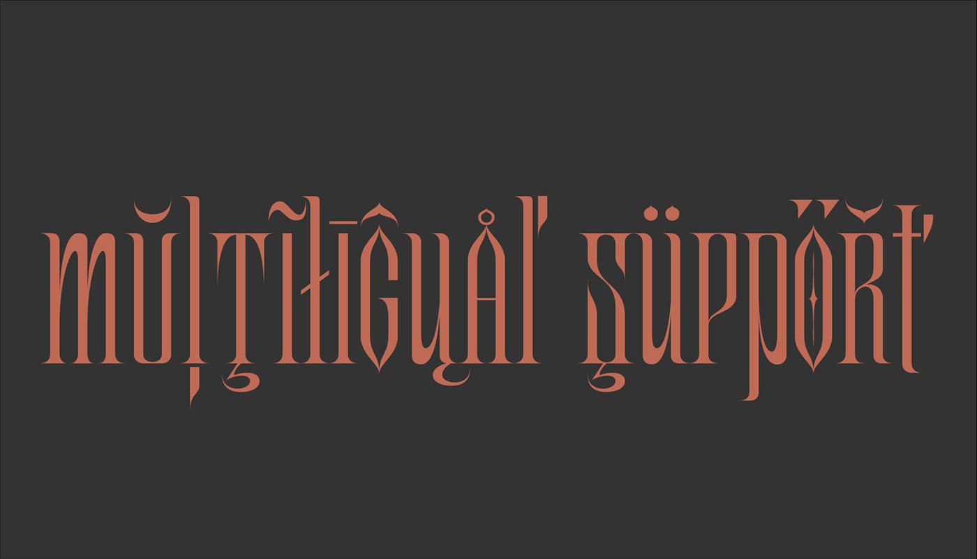 GOAT Free Font - decorative-display