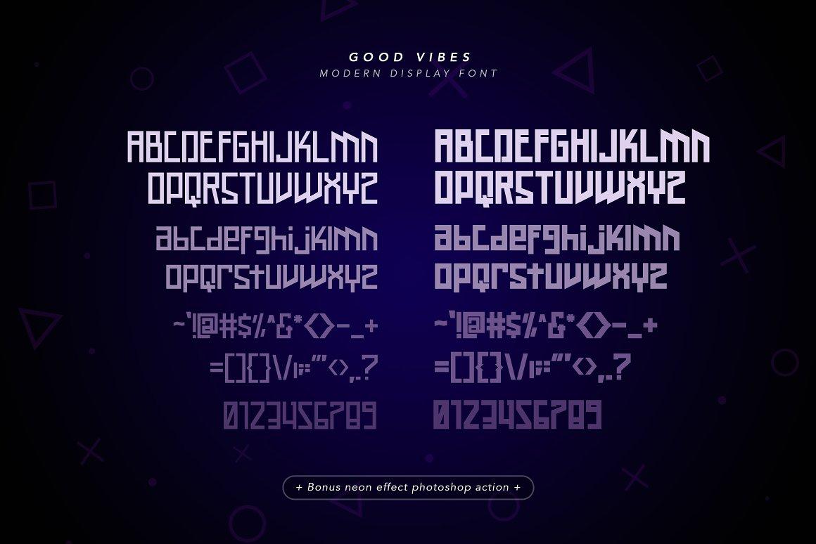 Good Vibes Free Font - decorative-display