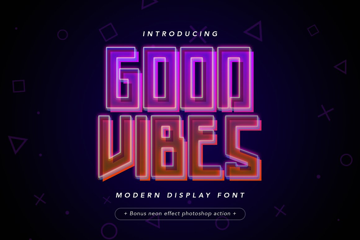 Good Vibes Free Font - decorative-display