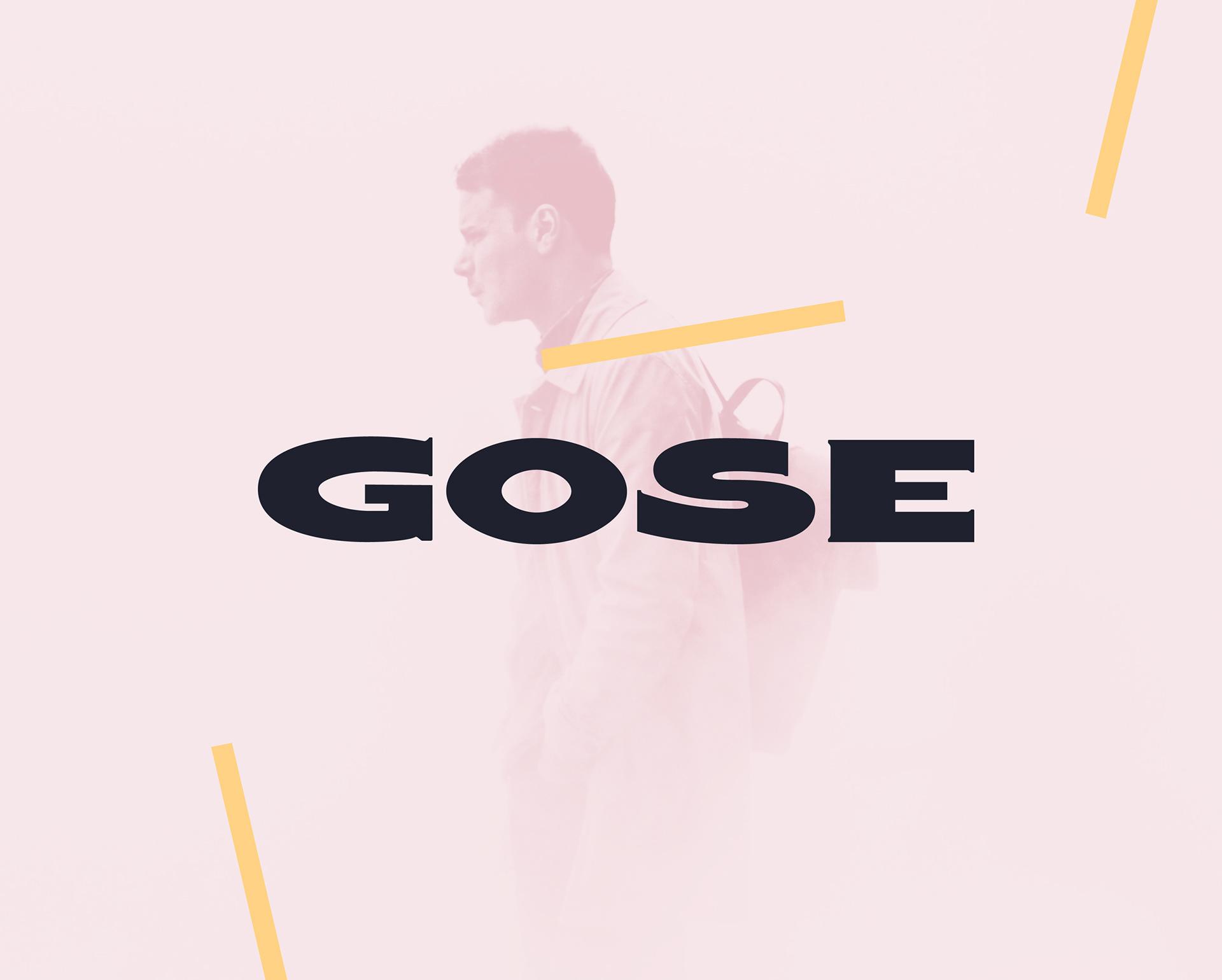 GOSE Free Font - decorative-display