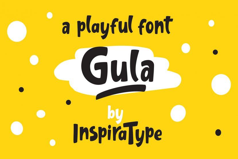 Gula Free Font - sans-serif