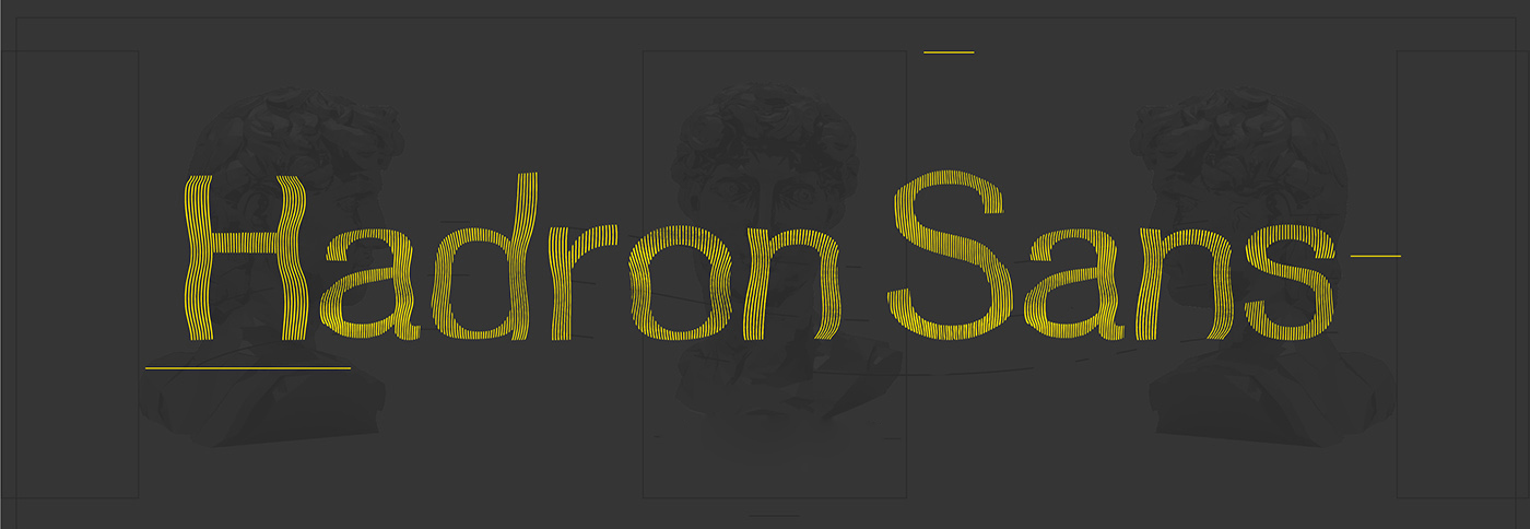 Hadron Sans Free Font - decorative-display
