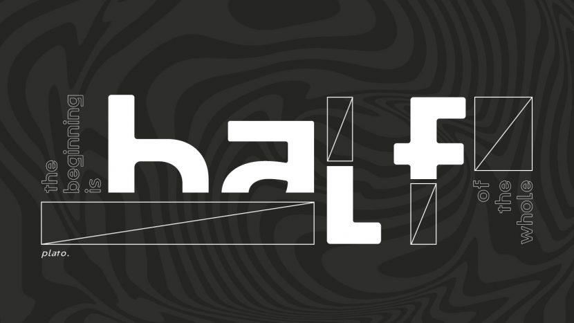 Half Free Font Family - sans-serif