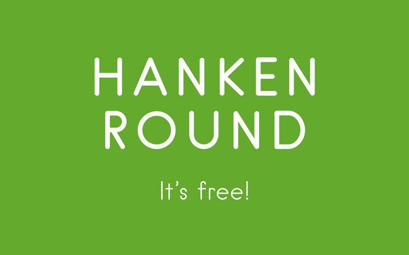Hanken Round Free Font - sans-serif
