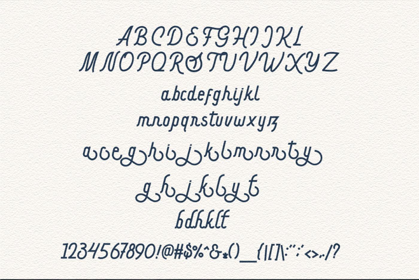 Hargael Free Font - script