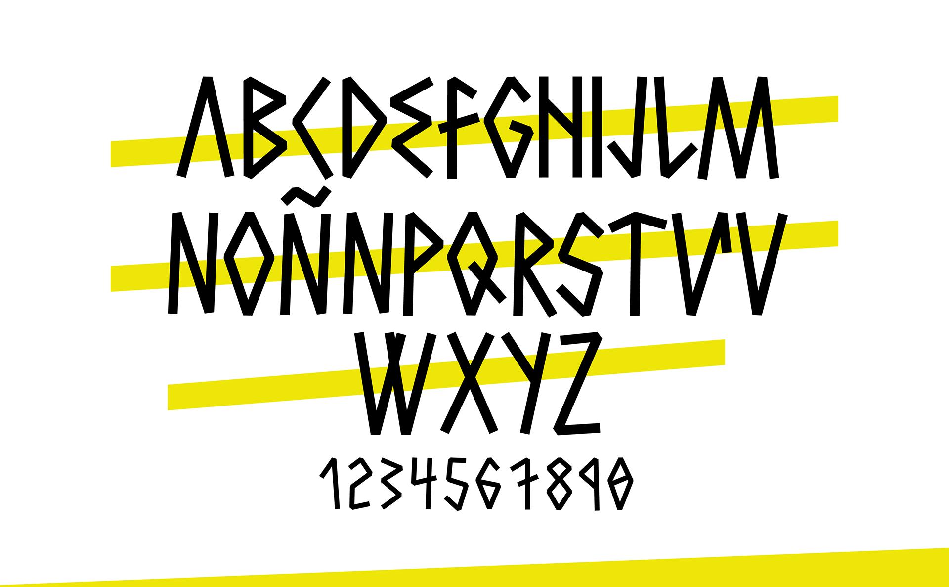 Hctor Free Font - decorative-display