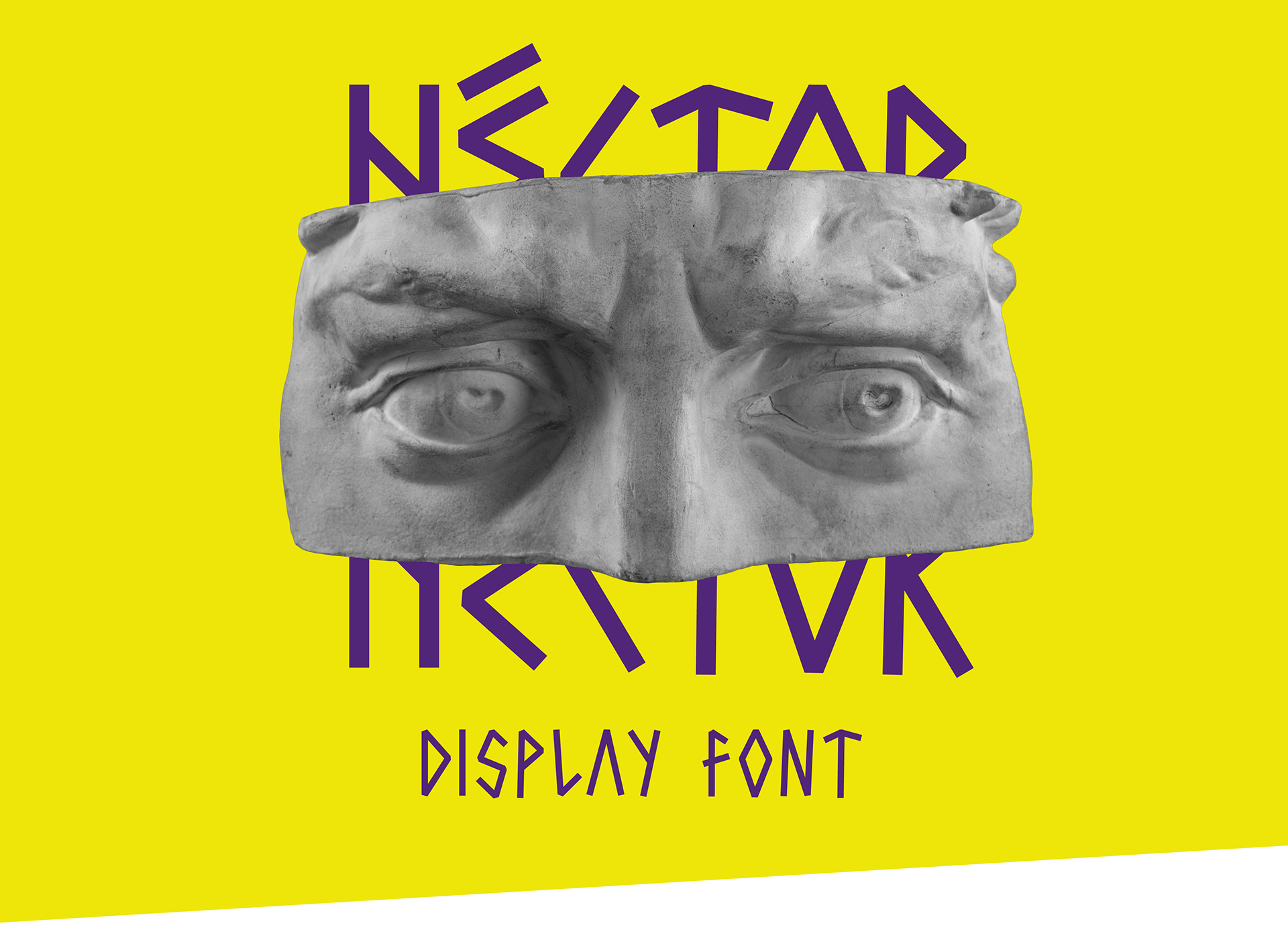 Hctor Free Font - decorative-display