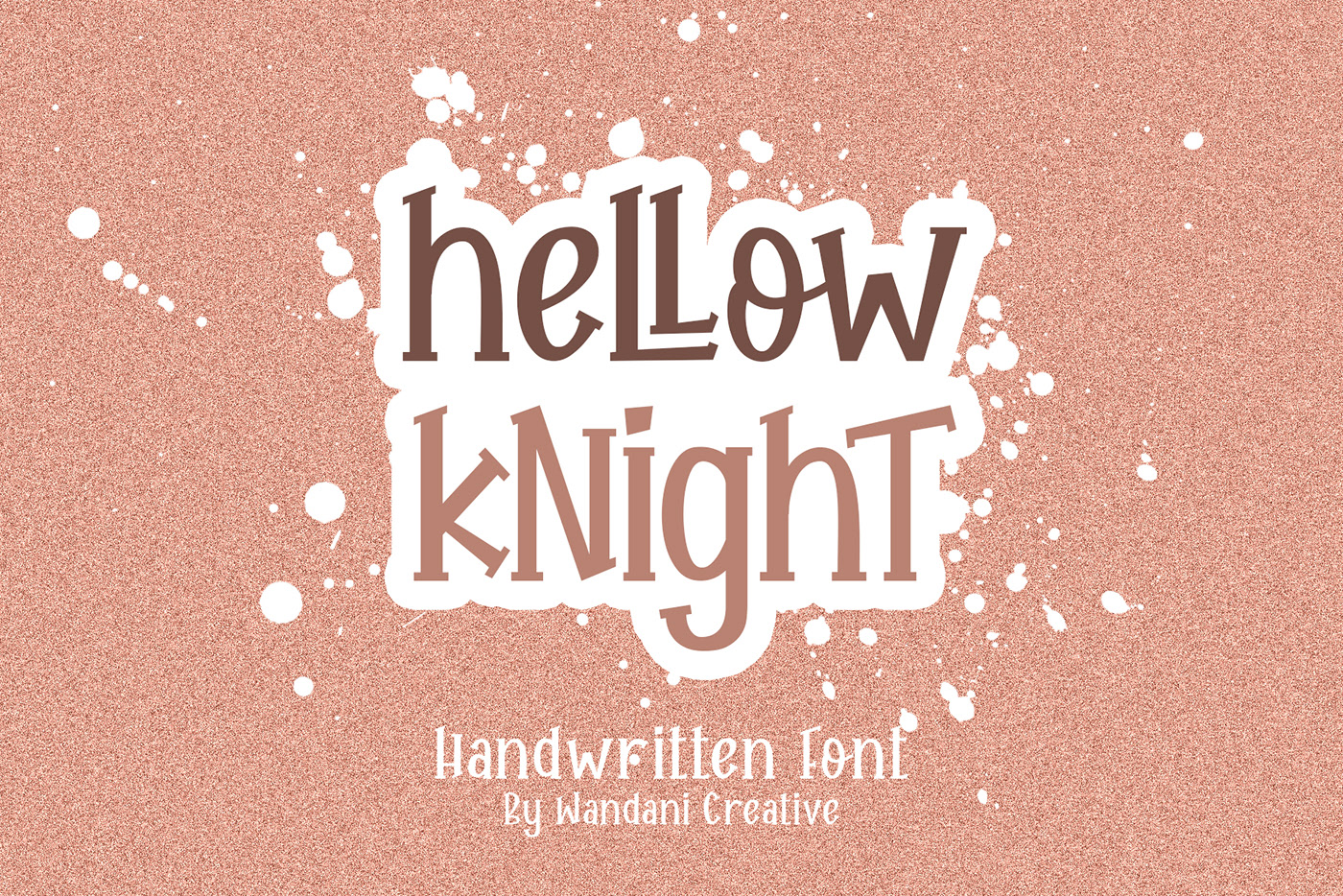 Hellow Knight Free Handwritten Font - script