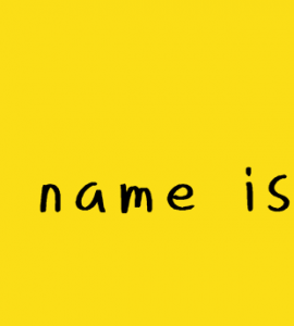 Her name is Rie Free Font - script