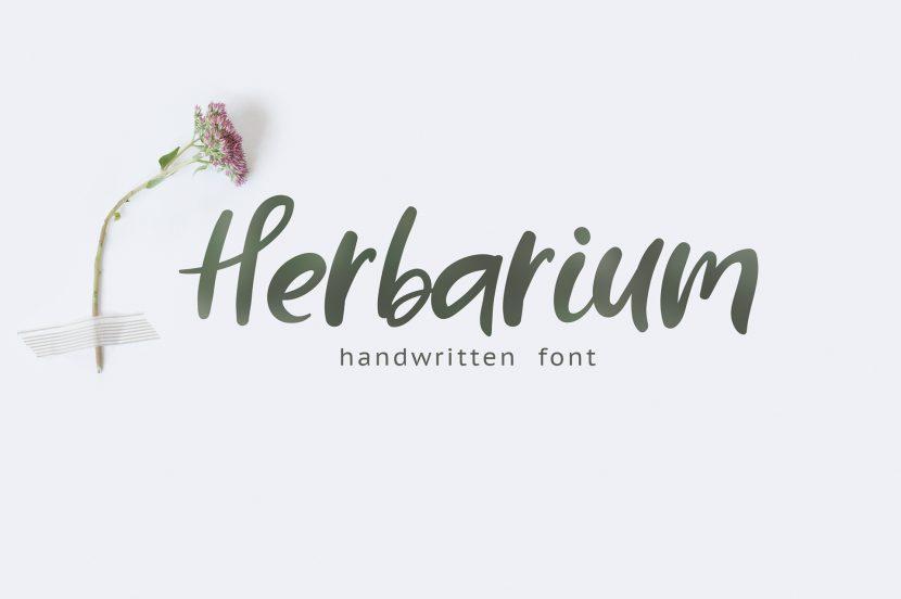 HERBARIUM Free Font -