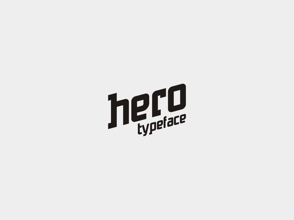 Hero Free Typeface - sans-serif