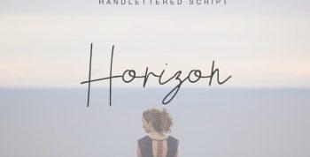 Horizon Free Script Font - script