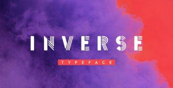 Inverse Free Font - decorative