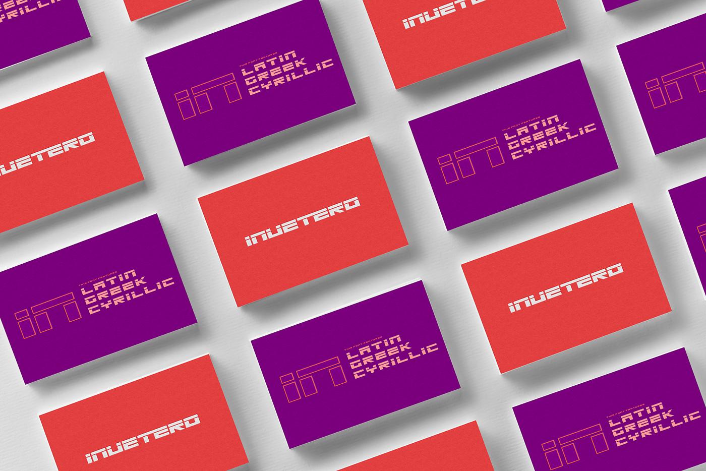 Invetero Free Font - sans-serif, decorative-display