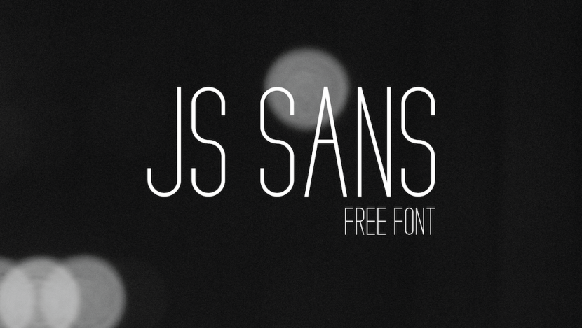JS SANS Free Font - sans-serif