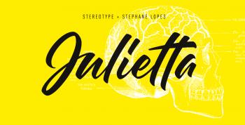 Julietta Script Font - script