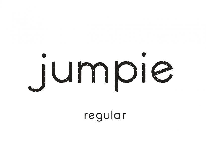 jumpie Free Modern Font - sans-serif