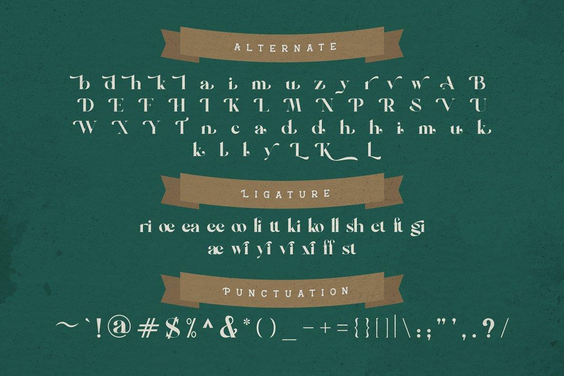 Kathy Cox Free Font - serif