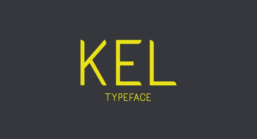 KEL Free Font - sans-serif