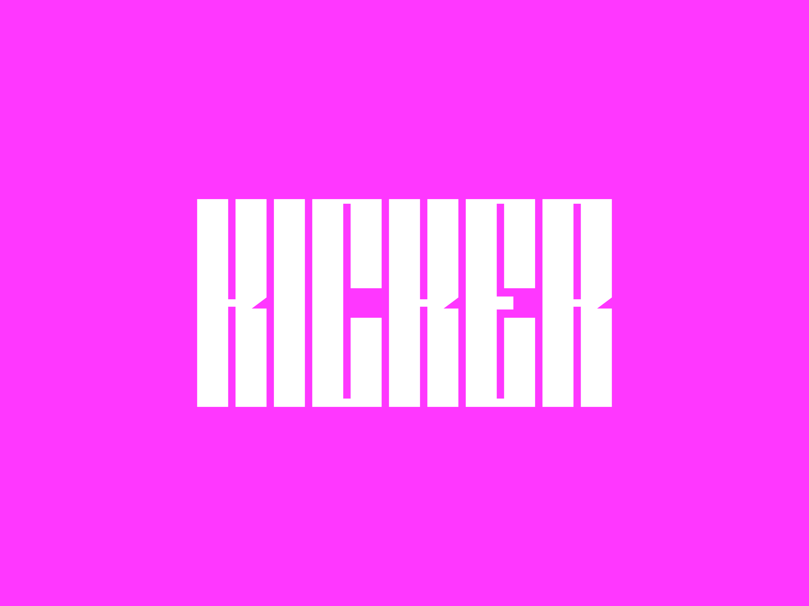 Kicker Free Font - decorative-display