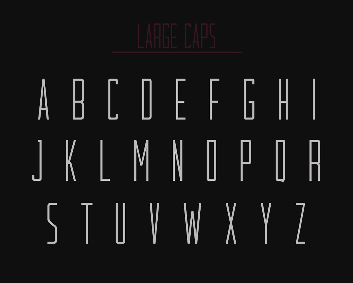 Kilowatt Free Font - sans-serif