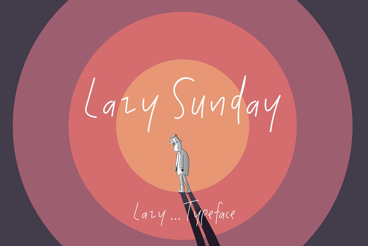Lazy Sunday Free Font - script