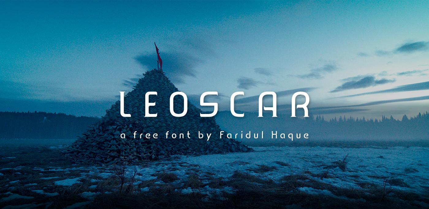 Leoscar Free Font - serif, sans-serif