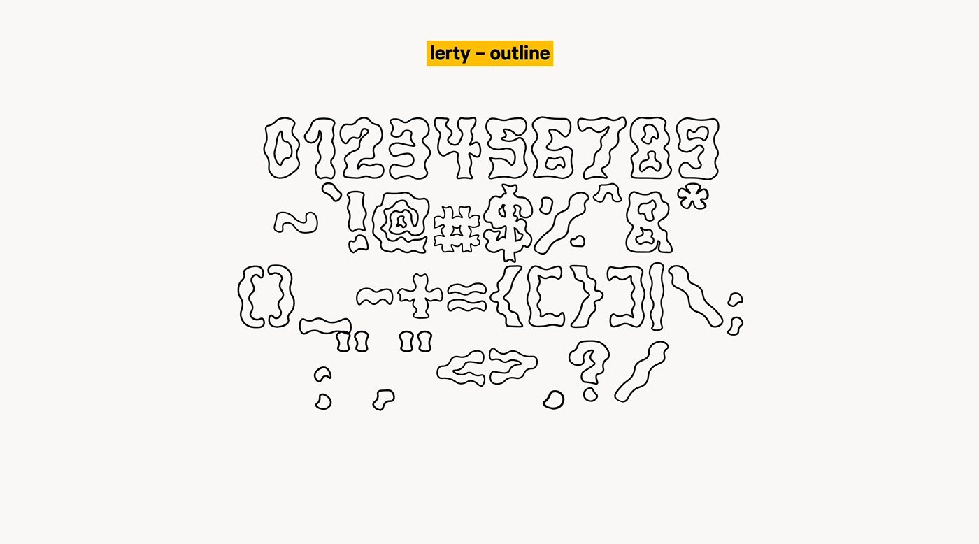 Lerty Free Font - decorative-display