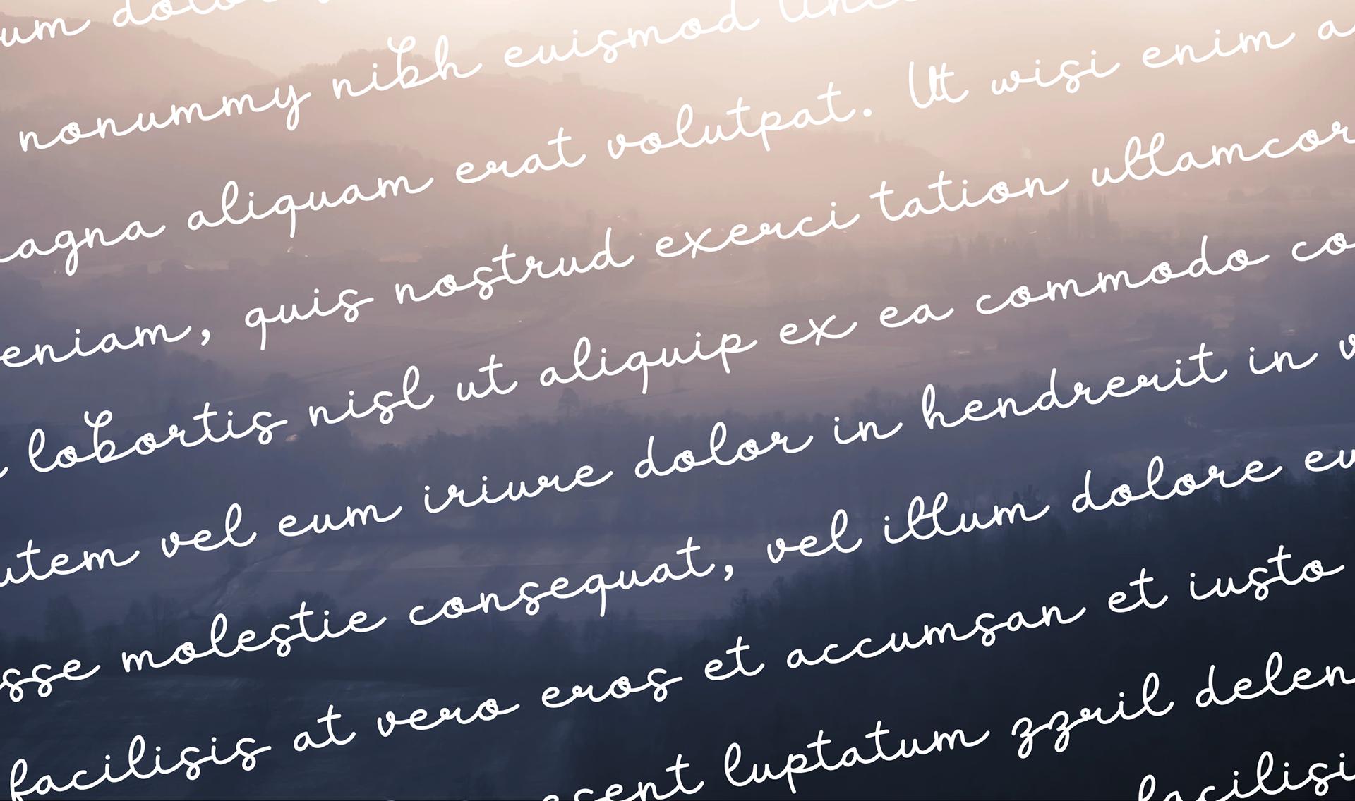 Lifestyle Free Handwritten Font - script