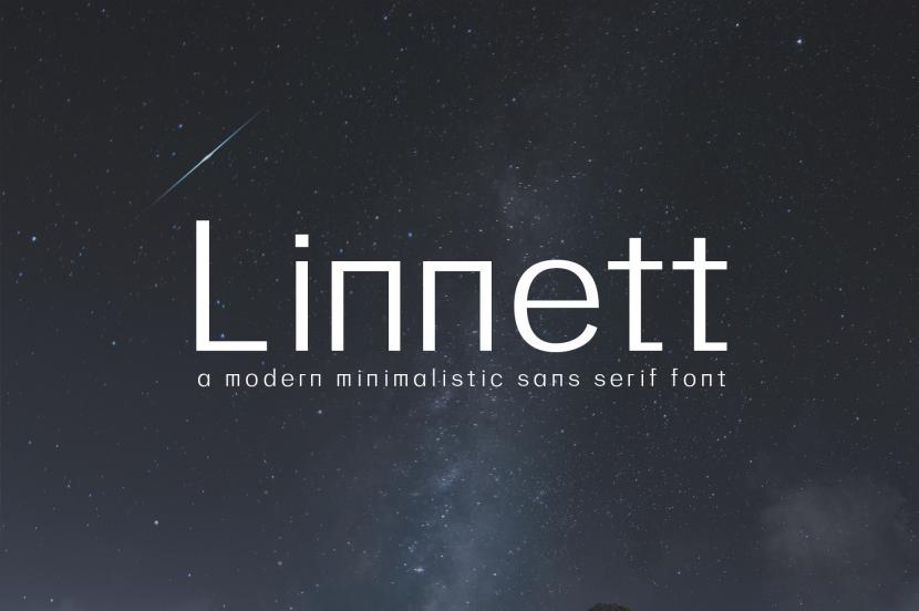 Linnett Free Font - sans-serif