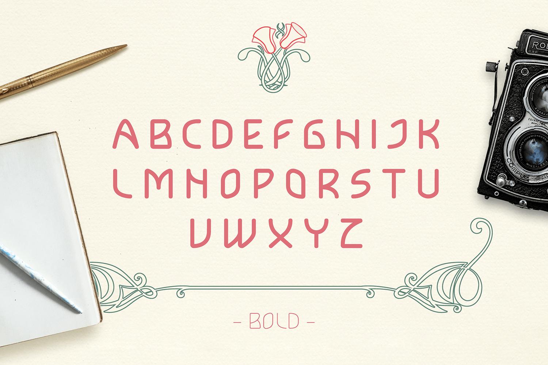 Lokka Free Font - decorative-display